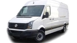 VW Crafter maxi, 15m<sup>3</sup>