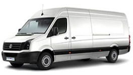VW Crafter supermaxi, 17m<sup>3</sup>
